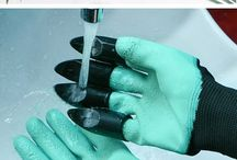 Garden and Gloves Images