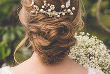 Inspiração penteados noivas