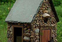 casitas pajaritos