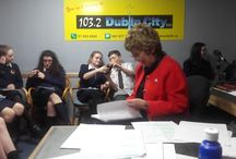 TY day at Dublin City fm