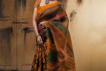 ethnic sarees / Ethnic sarees of my choice. Elegant sarees apt for traditional gatherings
