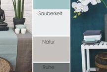 Wohnraumfarbe und mehr
