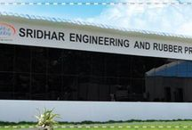 "Sridhar Rubber Products / Sridhar Engg. & Rubber Products Pvt. Ltd., (Sridhar Rubber), incorporated in 1984 is a flagship manufacturing company in the group. It has stated vision ""To be the most respected rubber product manufacture and be respected for its innovation""."