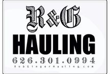Junk Hauling / R&G Hauling Junk Removal is the most professional service in Monrovia, California. You will get a great price quotation by calling Rob or Ginger at:  (626) 497-8271 or by visiting their website at:  http://www.robgingerhauling.com/