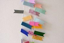 flagranke af papir og snor