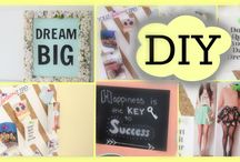 Really cool DIY room decor ideas for anytime of the season / If you want to craft or create these things for your room go ahead