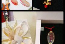 Le bomboniere firmate Incanti d'arte / Creazioni uniche e originali renderanno speciali i vostri eventi e le vostre bomboniere. Marilena Palomba pittrice