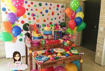Festa Cores / Festas Criativas e Personalizadas você encontra aqui. Procurando fofuras para a sua festa? Na nossa loja tem! http://loja.danifestas.com.br/
