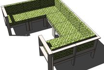 DIY Patio Furniture / DIY Furniture for Use on the Deck/Patio