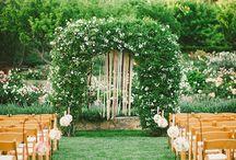 Garden/outdoor Weddings