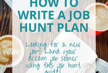 Job hunting ideas
