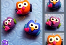 OWLS   -   OTHER / CLAY, STRING ETC