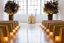 wedding: stylish aisles. / Aisles that let your guests know they are in for an incredibly stylish wedding day!  A #wedding ceremony #aisle.