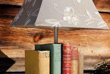 decoración con libros!