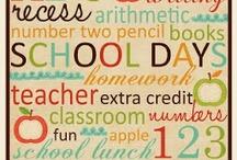Back to School / by Kiersten Cutsforth