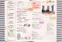 Bullet journaling / Ideas para bulle tjournal