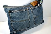 Jeans / Upcycing oude spijkerbroeken