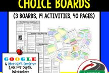 American History Choice Boards