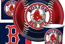 Danny's 7th Birthday Party Ideas / RED SOX THEME! / by Shannon Derosier DeGuire