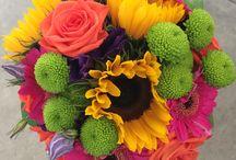 Bright Wedding Flowers / Bright, Bold, Funky, Skittles, Wedding Flowers