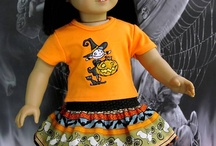 AG Doll Holiday Outfits- Halloween / by Audrey Overbaugh