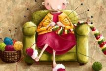Autour du tricot