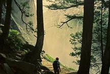 hiking :P