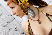 Leather clothing and jewelry