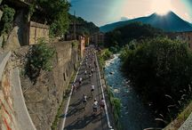 Granfondo Giordana / Follow in the wheels of Pantani: known for being one of cycling's best, and most aggressive, climbers. Ride two of Europe's toughest and infamous climbs: The Passo Mortirolo, featuring 1,300m in 12.5km and up to 18%, and the Passo Gavia,  a 17km beast which seems to climb to the top of the World with the summit at over 2,600m!