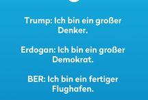 Trump und andere Politik Witze