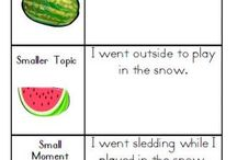 Writing / A collection of ideas for teaching writing to k-1