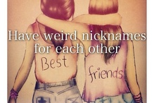 BFF Bucket List / All the things I want to do with my BFF before we croak!!