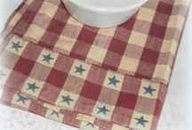 Country Chic Farmhouse / Country inspired decor for decorating a country, primitive or farmhouse style home.
