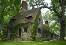 Tudor stílusú házak