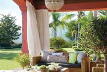 Gardening- outdoor rooms