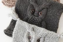 Czapeczki na szydełku i drutach
