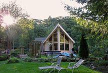 Natur Holzhaus / Holzhäuser