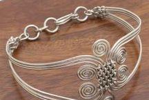 drótékszer / wire jewelry