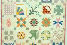 Antique Samplers / Antique quilt samplers are a great source of inspiration