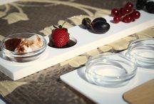 Collezione TeGusto S / Realizzato interamente in Krion, TeGusto S è ideale per esaltare degustazioni di cibi dolci e salati