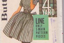 námety na šití - šaty
