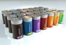Packaging design / Mood Board for packaging design