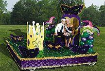 Mardi Gras float / by Stacy Mayo
