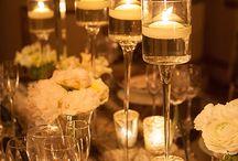 свечи и вазы