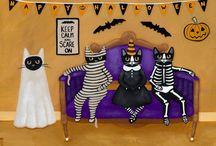 Ryan conners / Ilustraciones de gatitos hermosos
