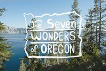 The 7 Wonders of Oregon / There are 7 Wonders of the World, and not a single one of them is here in Oregon. All we can figure is whoever came up with the list must have never set foot here