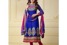 Georgette Part Wear Salwar Kameez / Buy online at Lifestyle Megamart