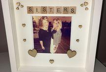 frame box sisters