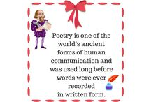 Poetry for Children / All children can engage with poems actively and enjoyably regardless of their academic achievements and abilities. Engaging your children with poetry makes an essential contribution to the development of their literacy skills and learning about language.