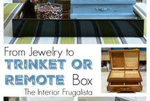 DIY Trinket/ Remote Box